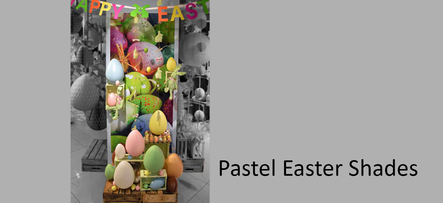 Pastel Easter Shades