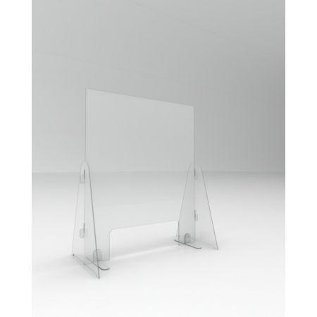 Επιτραπέζιο διαχωριστικό προστασίας 75x30x67cm