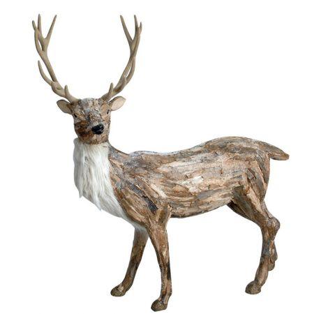 Χριστουγεννιάτικο Διακοσμητικό Ελάφι, 115 cm
