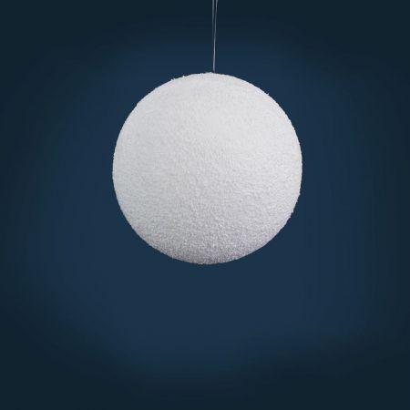 Χριστουγεννιάτικη κρεμαστή χιονόμπαλα 20cm