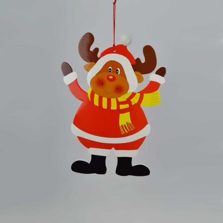 Χριστουγεννιάτικο στολίδι-Ταρανδος 38cm