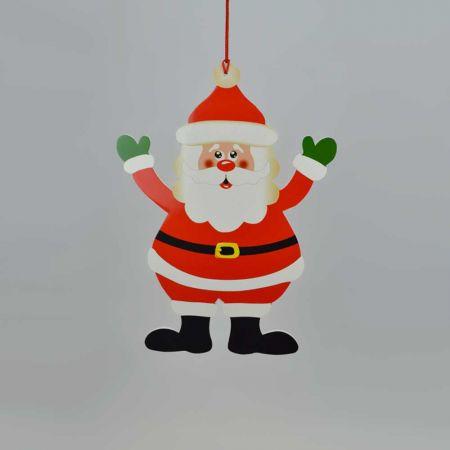 Χριστουγεννιάτικο στολίδι-Άγιος Βασίλης 38cm