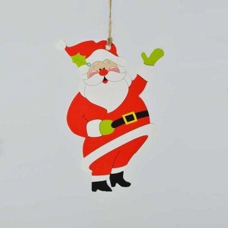 Χριστουγεννιάτικο στολίδι-Άγιος Βασίλης 15cm