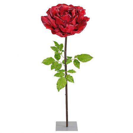 XL Διακοσμητικό τριαντάφυλλο Κόκκινο 165cm