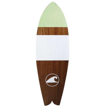Διακοσμητική σανίδα του Surf ξύλινη 40x130cm