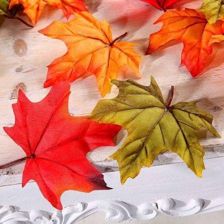 Σετ 30τμχ. Διακοσμητικά φύλλα Σφένδαμου 13cm