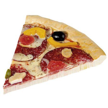 Διακοσμητικό κομμάτι πίτσα - απομίμηση 14x14cm
