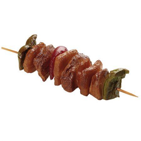 Διακοσμητικό σουβλάκι-καλαμάκι κρέας - απομίμηση 5x20cm