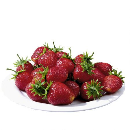 Σετ 24τμχ Διακοσμητικές φράουλες - απομίμηση