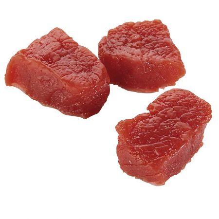 Σετ 3τχ διακοσμητικά ωμά κομμάτια βοδινό κρέας απομίμηση 3x4cm