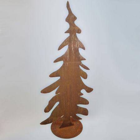 Διακοσμητικό Χριστουγεννιάτικο μεταλλικό δέντρο, 100 cm