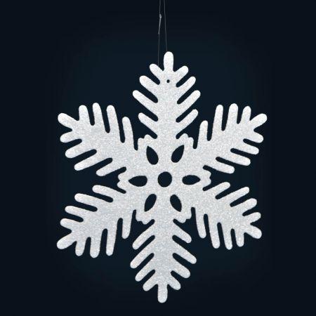 Διακοσμητική Χριστουγεννιάτικη νιφάδα χιονιού 46cm