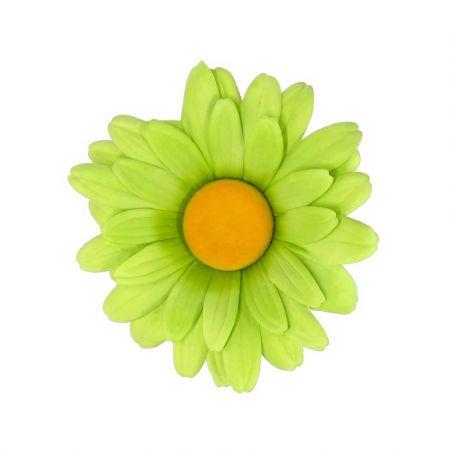 Διακοσμητική ανοιξιάτικη μαργαρίτα Πράσινη 40cm