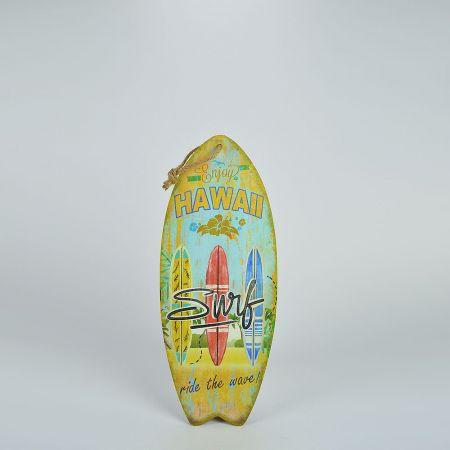 Διακοσμητική σανίδα Surf - Hawaii 20x50cm