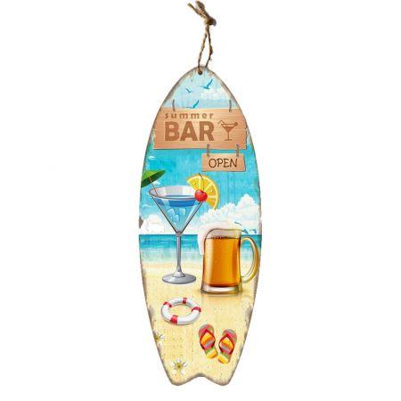 Διακοσμητική σανίδα Surf- Summer Love 30x78cm