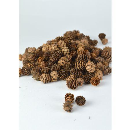 Σετ 150g Διακοσμητικά μίνι κουκουνάρια 2-3cm