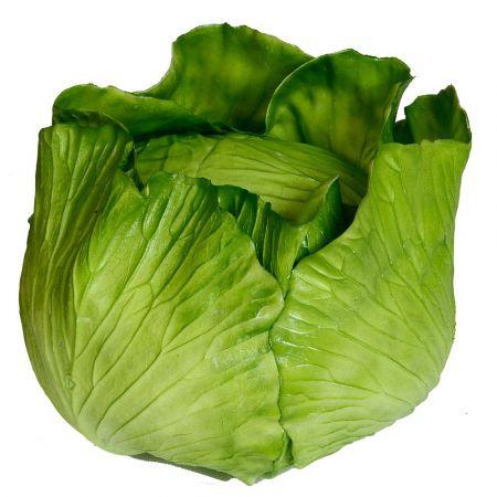 Διακοσμητικό λάχανο Πράσινο 20x15cm - Απομίμηση