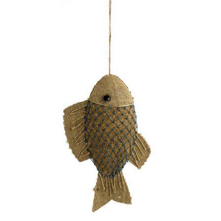 Διακοσμητικό ψάρι κρεμαστό 28x17x15cm