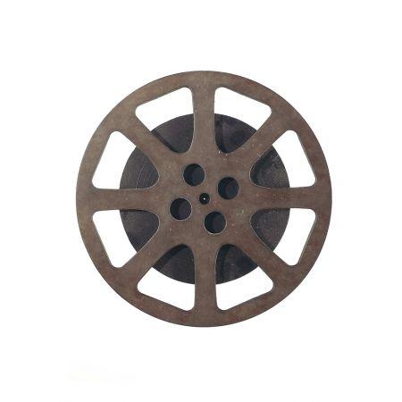 Διακοσμητικό καρούλι ταινίας Καφέ 28cm