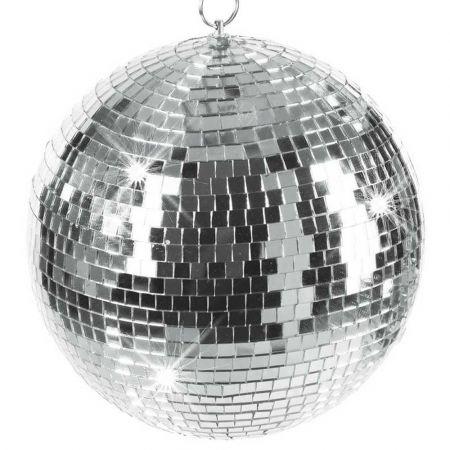 Διακοσμητική Disco μπάλα Ασημί 50cm