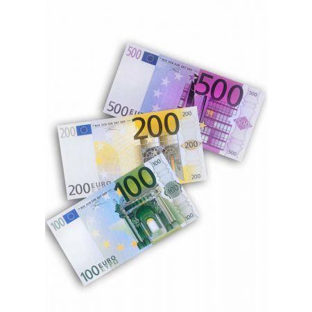 Σετ 3τχ XL χαρτονομίσματα 100 - 200 - 300 euro 80x60cm