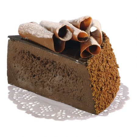 Διακοσμητική πάστα σοκολάτας με καρύδα - απομίμηση 10cm