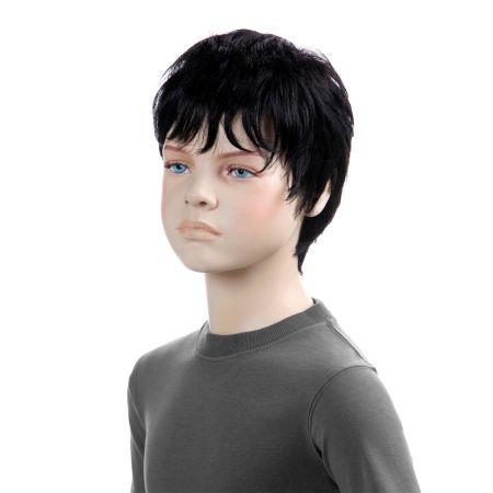 Παιδική Περούκα TIM Μαύρο