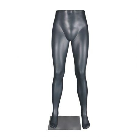 Ανδρικά Πόδια Βιτρίνας για παντελόνι Λευκά 115cm