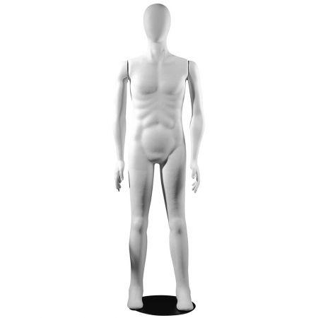 Ανδρική Εύκαμπτη Κούκλα Βιτρίνας Πλαστική 180cm