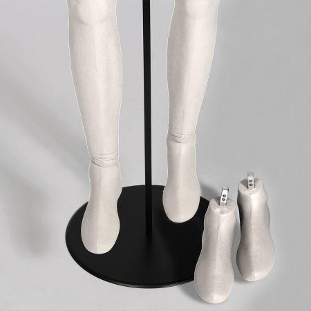 Ζευγάρι Πόδια για Ανδρική Εύκαμπτη Κούκλα
