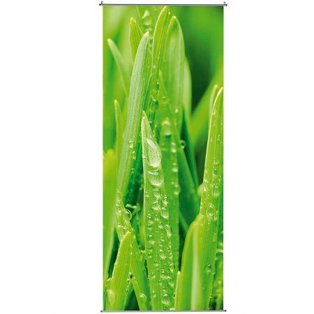 Διακοσμητική αφίσα από ύφασμα - Grass - 100x250cm