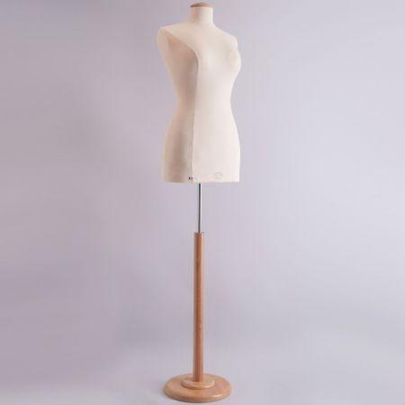 Classic Collection Γυναικείο Μπούστο Ραπτικής με Ξύλινη Στρογγυλή Βάση