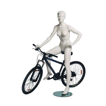 Γυναικεία Κούκλα Βιτρίνας - Ποδηλάτης
