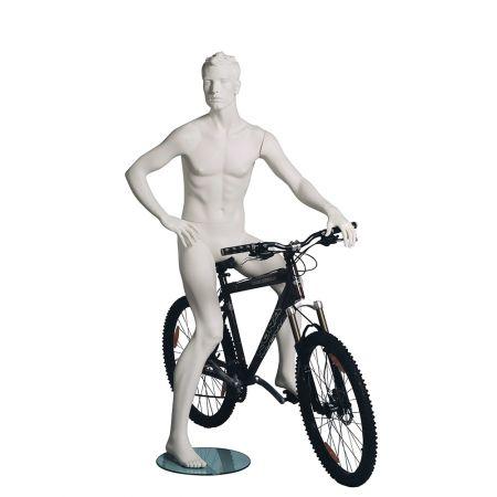 Ανδρική Κούκλα Βιτρίνας - Ποδηλάτης