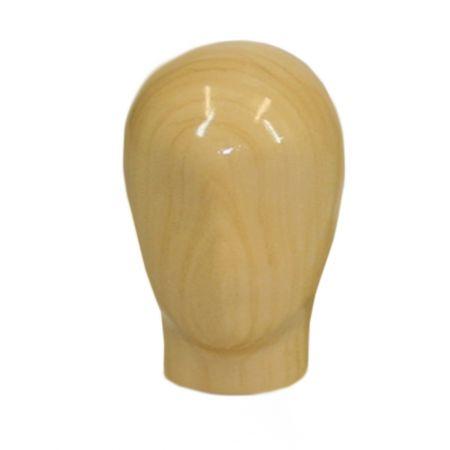 Ανδρικό Κεφάλι Ξύλινο για Μπούστο Ραπτικής