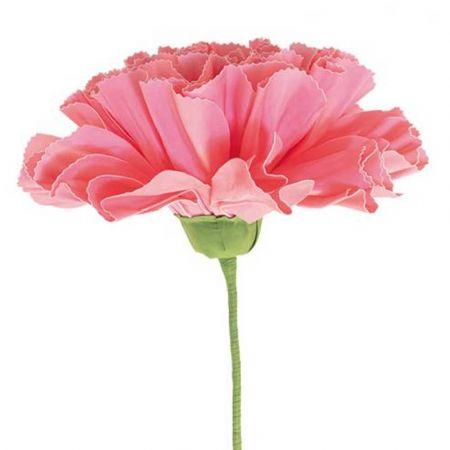 XL Διακοσμητικό λουλούδι - άνθος foam Ροζ 80x60cm