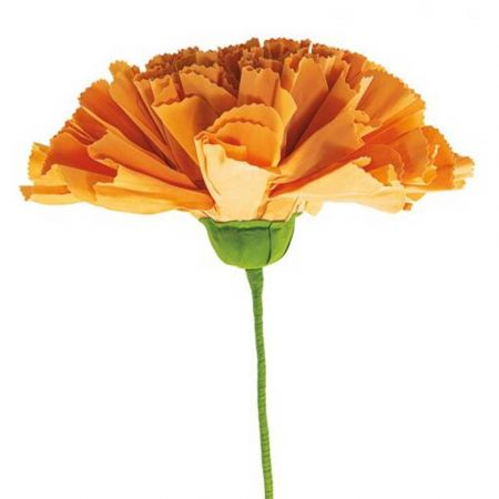 XL Διακοσμητικό λουλούδι - άνθος foam Πορτοκαλί 80x60cm