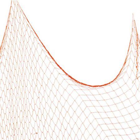 Διακοσμητικό δίχτυ ψαρέματος λεπτό Πορτοκαλί 120x500cm