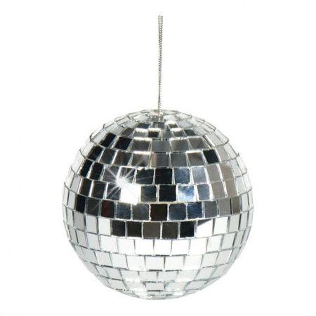 Διακοσμητική Disco μπάλα Ασημί 6cm