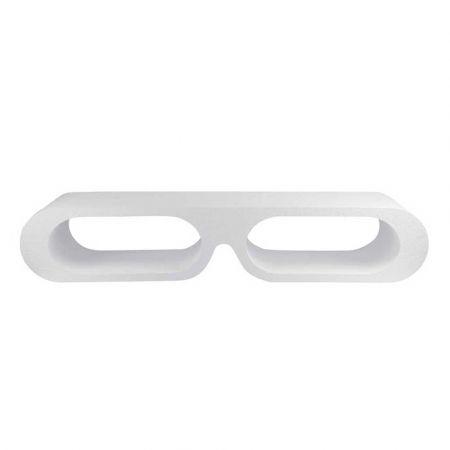 Διακοσμητικό Σταντ Παρουσίασης για Γυαλιά Λευκό 70x20x15cm