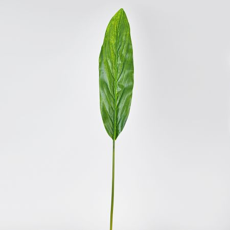 Διακοσμητικό φύλλο dracaena με δροσοσταλίδες 100cm