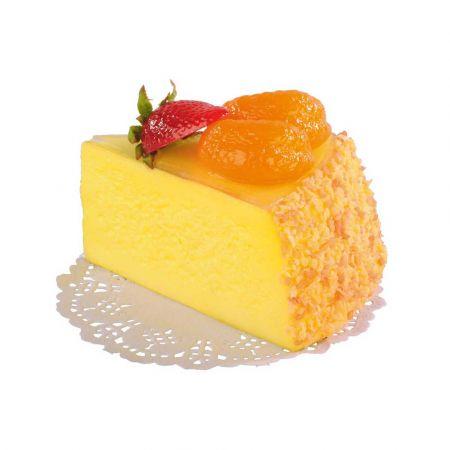 HQ Διακοσμητικό κομμάτι τούρτας με φρούτα - απομίμηση 7x10cm