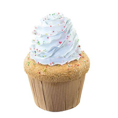 XL Διακοσμητικό cupcake Βανίλια 24cm