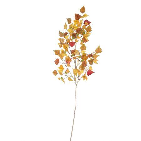 Διακοσμητικό Φθινοπωρινό κλαδί Σημύδας 130cm