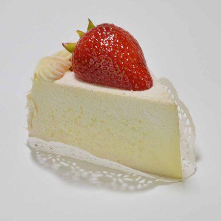 HQ Διακοσμητικό κομμάτι τούρτας κρέμα - φράουλα απομίμηση 10x7cm
