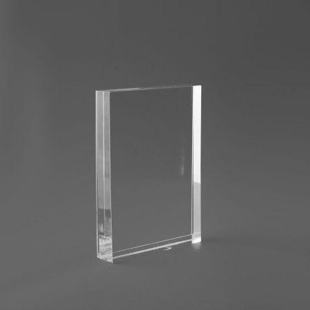 Σταντ εντύπων - τιμών Plexiglass A6 - 10,5x15cm