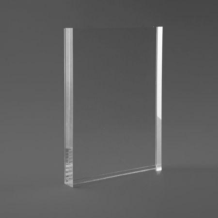 Σταντ εντύπων - τιμών Plexiglass A5 - 15x21cm