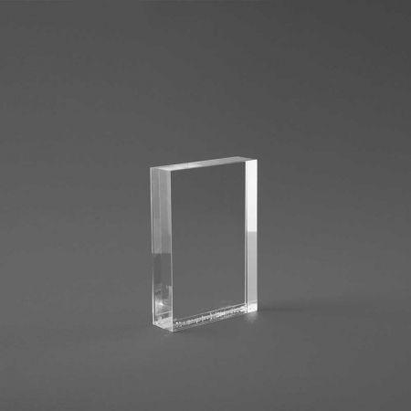 Σταντ εντύπων - τιμών Plexiglass A7 - 7,6x10,6cm