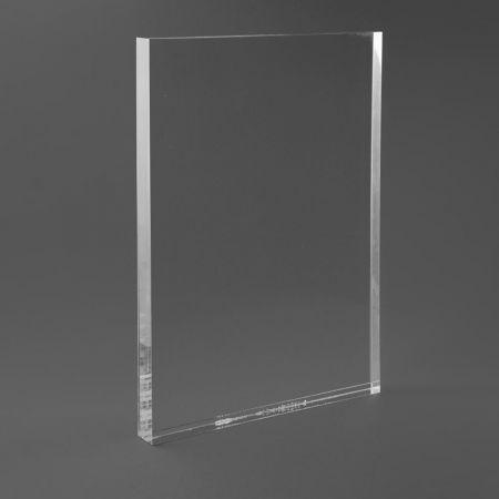 Σταντ εντύπων - τιμών Plexiglass A4 - 21,3x29,7cm