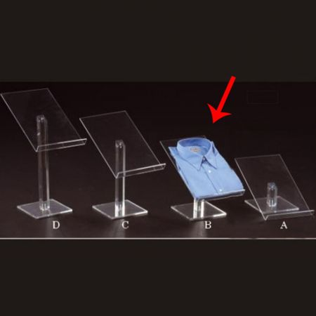 Σταντ Plexiglass για πουκάμισα 22x35x25cm